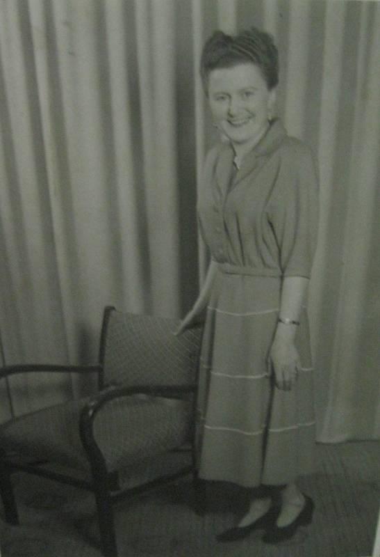 Anna Hadwiger, která byla odvezena na Sibiř, kde strávila 8 let.