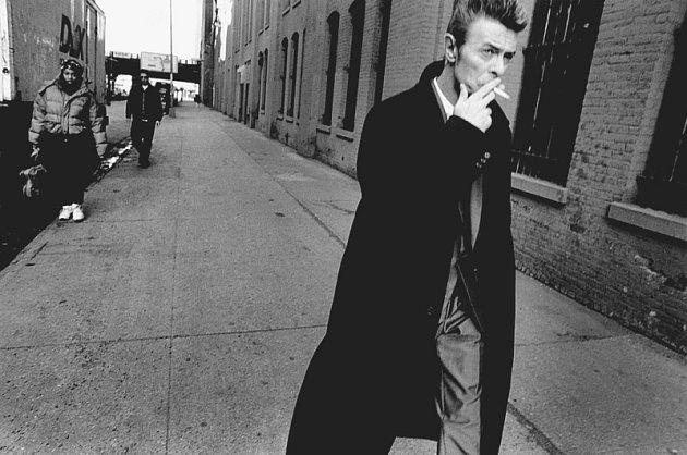 Zpěvák David Bowie očima Antonína Kratochvíla