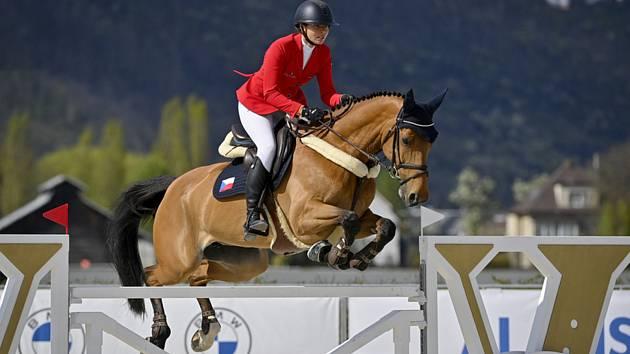 Anna Kellnerová z ČR s koněm Catch Me If You Can Old.