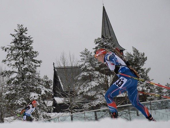 Lucie Charvátová na MS v Oslu