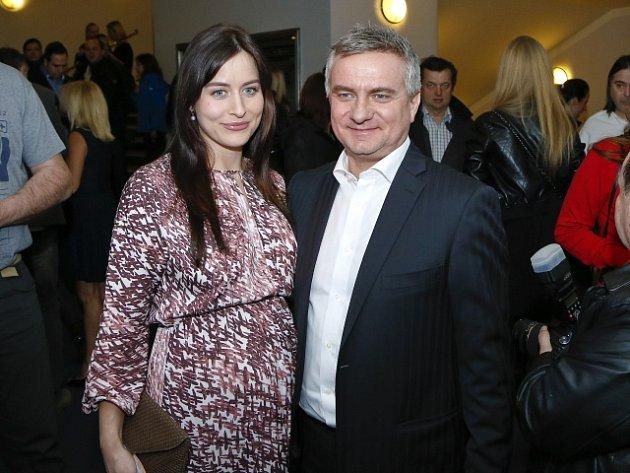 Vratislav Mynář s manželkou Alexandrou.