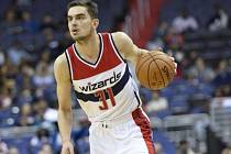 Tomáš Satoranský v dresu Washingtonu Wizards