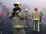Íránští hasiči. Ilustrační foto