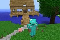 Počítačová hra Minecraft.