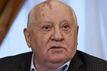 Bývalý sovětský prezident Michail Gorbačov.