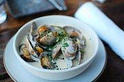 Krémová rybí polévka (Calm chowder)