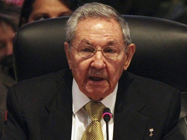 Kubánský prezident Raul Castro.
