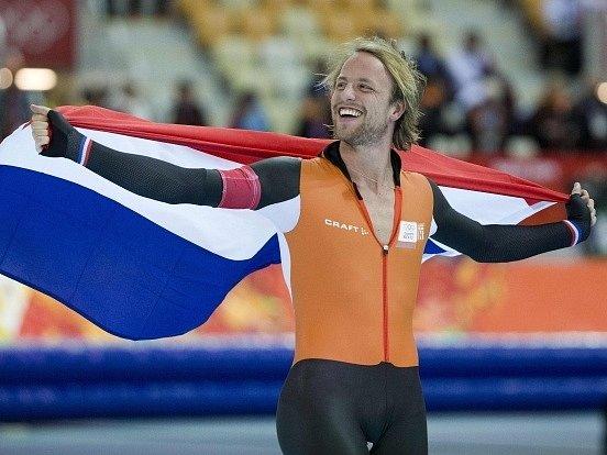 Michel Mulder po triumfu na pětistovce