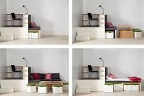 modulový nábytek