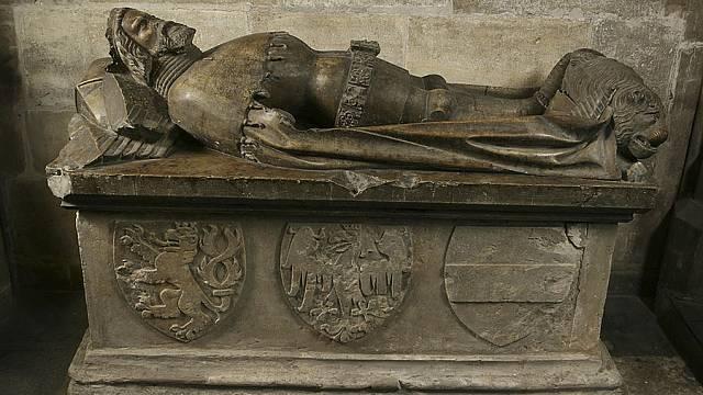 náhrobek Přemysla Otakara II.