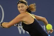 Petra Kvitová na turnaji v Cincinnati.