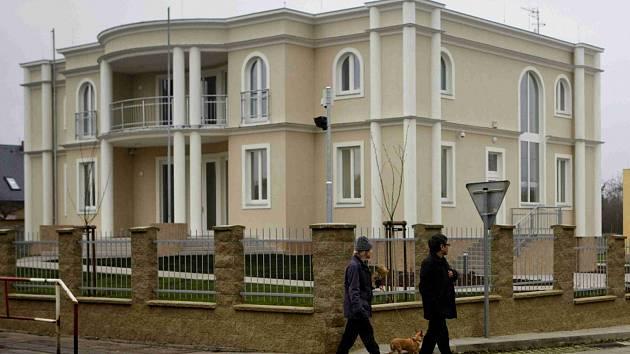 Palestinské velvyslanectví v Praze.