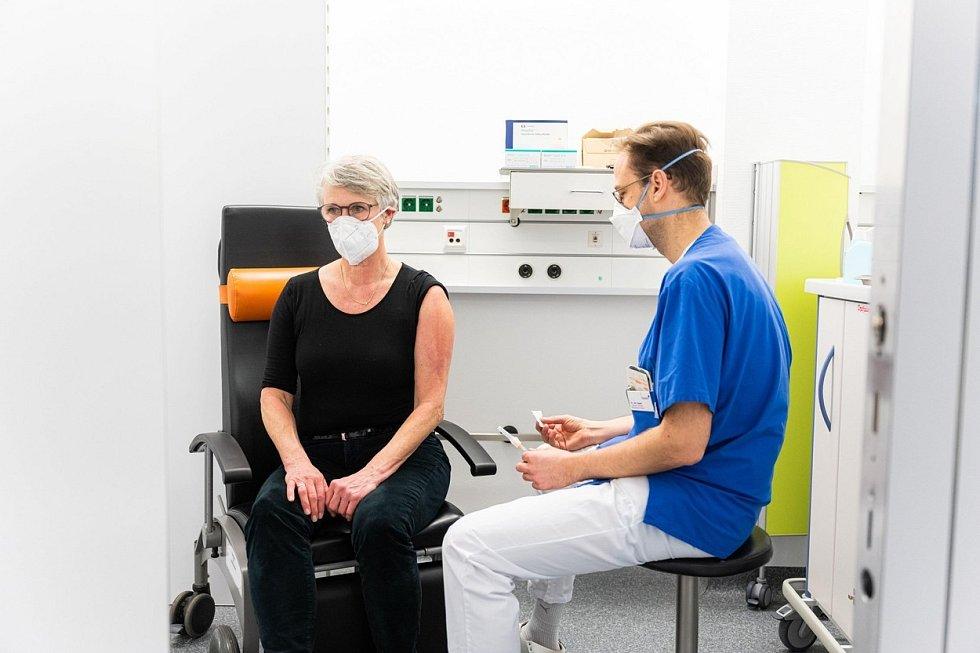 Očkování proti koronaviru v Německu