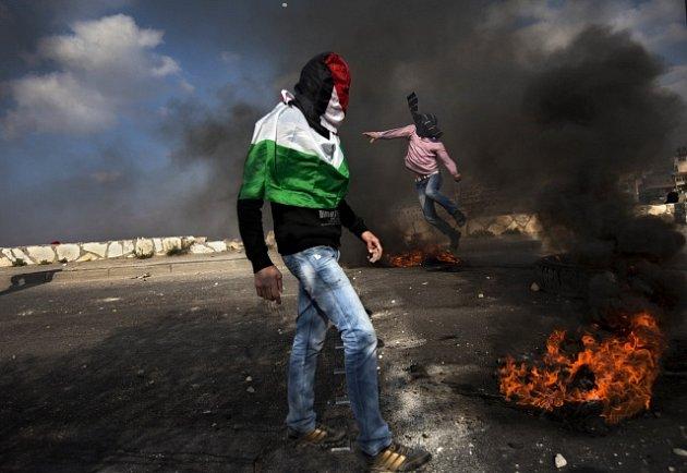 Protesty na Západním břehu Jordánu