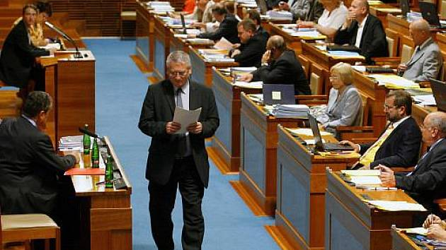 Senát České republiky. Ilustrační foto