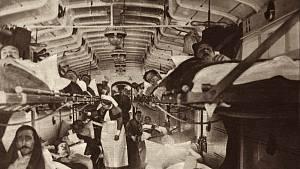 Během první světové války zemřelo více lidí v důsledku infekčních onemocnění, než na následky bojů.