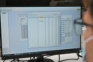 Vyhodnocování testů na covid v Brně