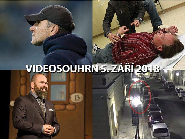 Videosouhrn 5. září 2018