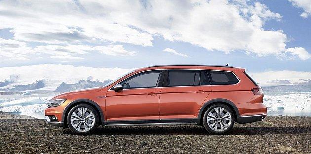 Volkswagen Passat Alltrack.