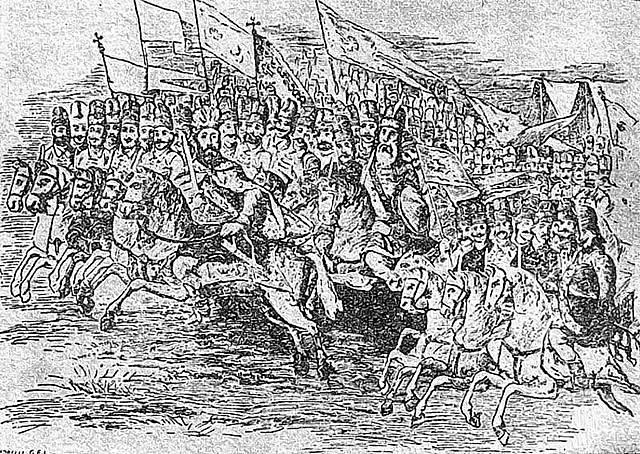 Srbové na bitevním poli