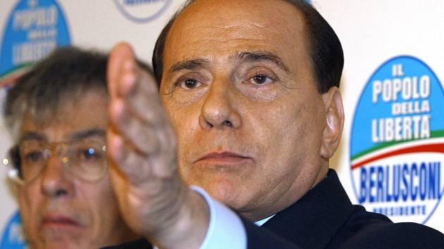 Staronový italský premiér Silvio Berlusconi.
