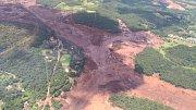 V brazilském dole Corrego de Feijao se protrhla přehrada s hlušinou