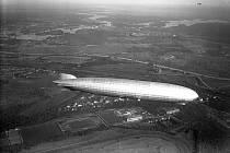 Nejslavnější vzducholoď německé historie Graf Zeppelin