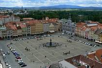 České Budějovice - náměstí Přemysla Otakara II