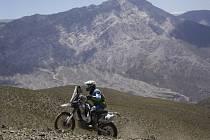 Jan Veselý na Rallye Dakar 2014 skončil už po třetí etapě.