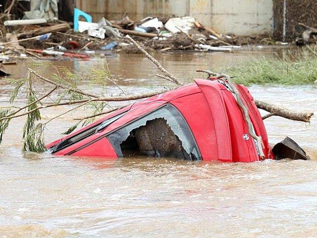 Záplavy v australském Queenslandu.