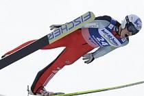 Skokan na lyžích Jan Matura.