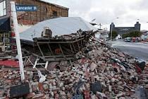 Zemětřesení na Novém Zélandu. Ilustrační foto