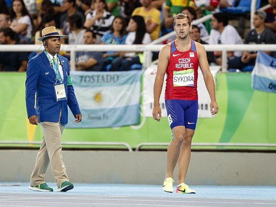Jiří Sýkora na olympijských hrách vRiu 2016.
