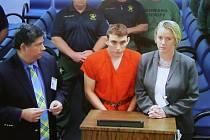Nikolas Cruz v soudní síni