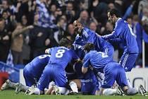 Londýnská Chelsea slaví postup do semifinále Ligy mistrů. V něm se utká s Barcelonou.