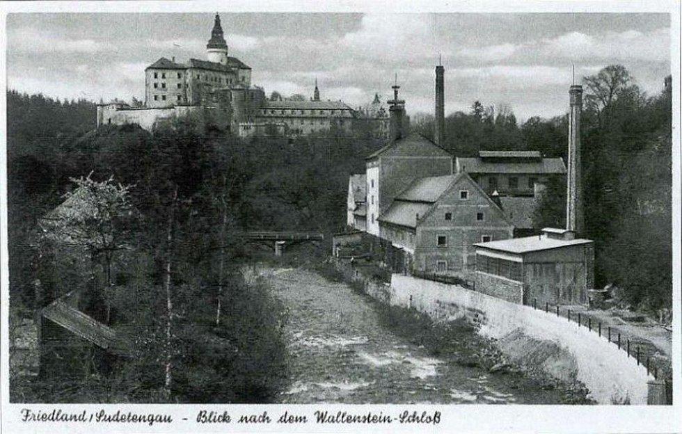 Frýdlantský pivovar v roce 1940