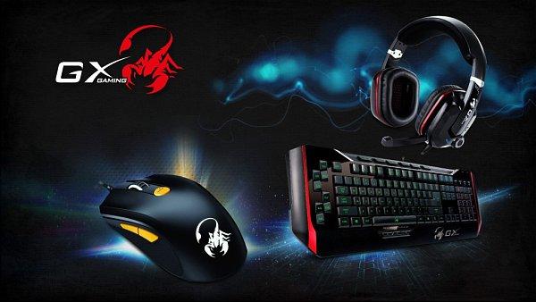 Herní příslušenství GX Gaming.