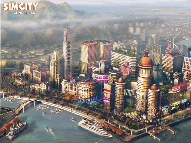 Počítačová hra SimCity.