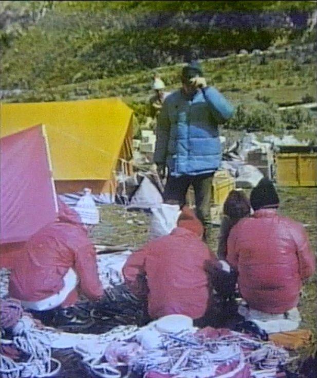 Českoslovenští horolezci v Peru