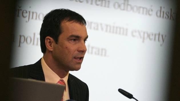 Ivo Vykydal na archivním snímku.