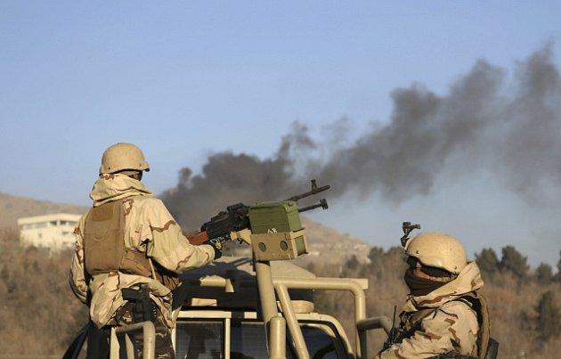 Útok na hotel v Kábulu