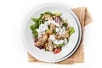 Kuřecí salát se zálivkou