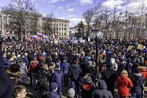 V Rusku probíhají rozsáhlé protivládní demonstrace