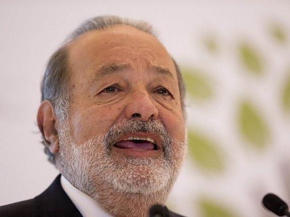 Mexický magnát Carlos Slim.
