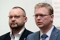 Pavel Bělobrádek a Jan Bartošek