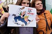 Protesty proti Donaldu Trumpovi