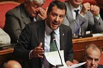 Italský vícepremiér Matteo Salvini