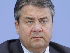 Německý vicekancléř a ministr hospodářství Sigmar Gabriel-