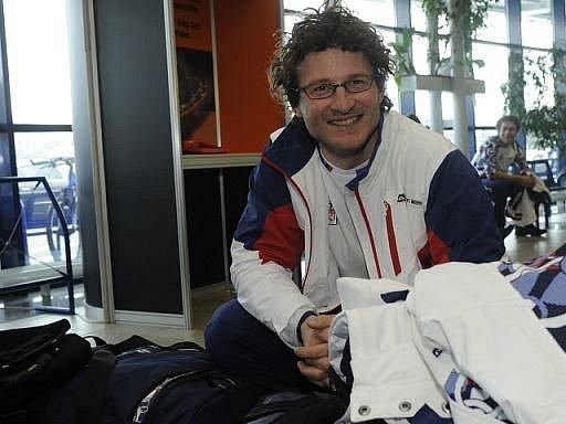 Snowboardista Michal Novotný.