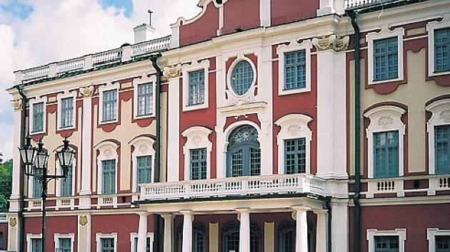 Kadriorg, bývalé letní sídlo ruského cara.